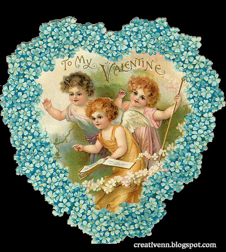 Ангелы купидоны и амуры старинные